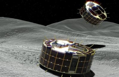 Japan space rovers lowered on distant asteroid Ryugu
