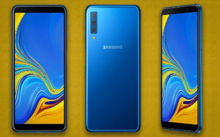 Samsung Galaxy A7 set to launch with triple rear cameras