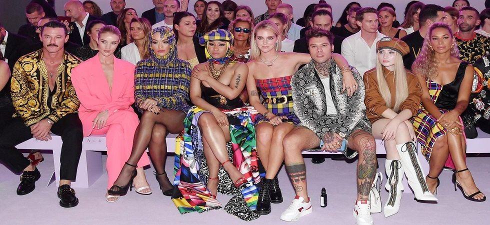Milan fashion Week: Donatella Versace's Spring 2019 show (Photo:Twitter/VogueItalia)