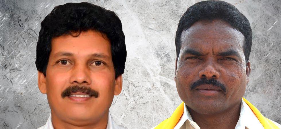 TDP leaders Kidari Sarveswara Rao (L) and Siveri Soma (R) were shot dead by suspected Maoists in Visakhapatnam today