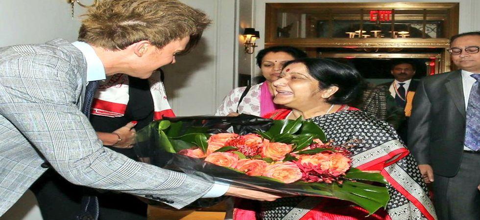 Sushma Swaraj arrives in New York for 73rd UNGA session, to address General Debate on September 29 (File Photo)