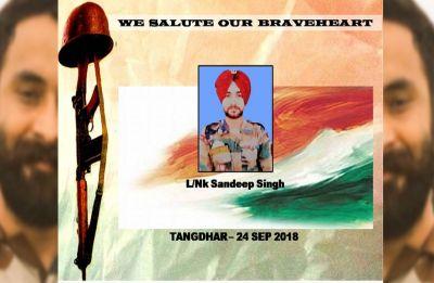 Surgical Strike hero Sandeep Singh killed in Kupwara anti-infiltration operation
