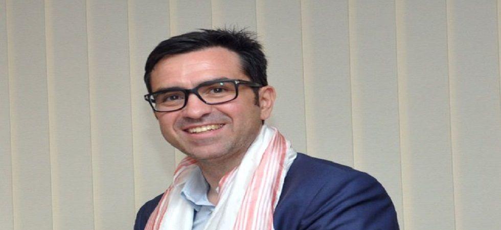 British Council, India Director, Alan Gemmell Obe (Photo- Twitter/@sarbanandsonwal)