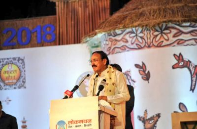 World praising India for cleanliness efforts of Modi govt: Venkaiah Naidu