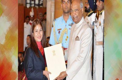 Arunachal Pradesh: Everester Jamsenpa dedicates her award to all women