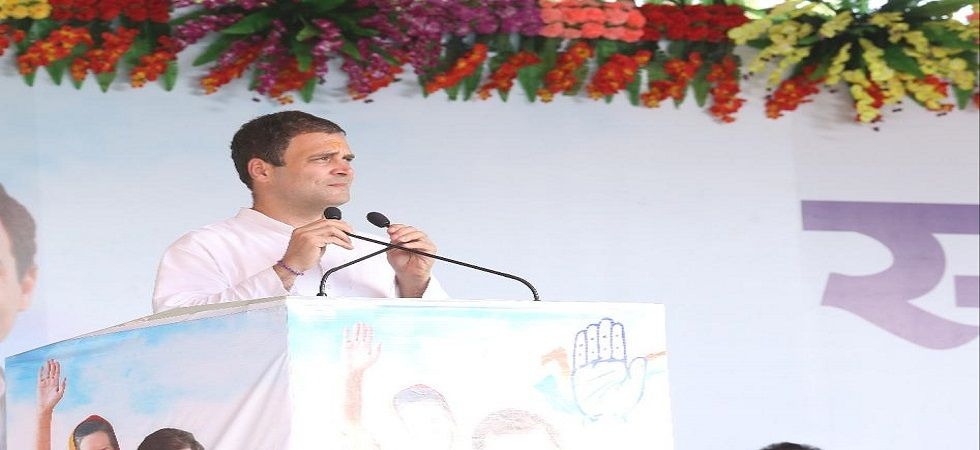 Rahul Gandhi in MP LIVE: Congress chief addresses rally in Chitrakoot (Photo Source: PTI)