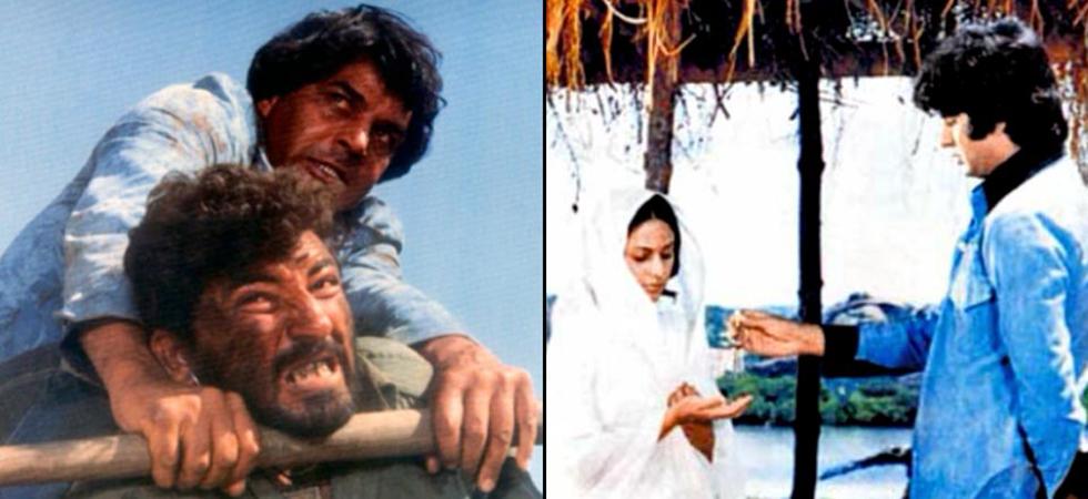 Sholay, Ramesh Sippy, Saleem Khan, Amitabh Bachchan, Dharmendra, Hema Malini, Jaya Bachchan/ Photo: A still from the movie 'Sholay'
