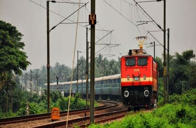 To celebrate Gandhi Jayanti, Indian Railways plants 13,00,000 trees over 1,300 km of its network