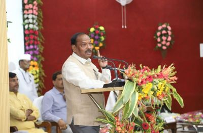 Raksha Shakti University graduates will be given priority in police employment: CM Raghubar Das