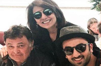 Real reason Why Ranbir, Rishi and Neetu not present at Krishna Raj Kapoor's funeral