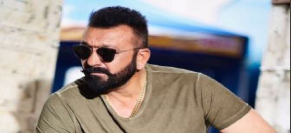 Sanjay Dutt sharing motivational pep talk with the youth of India amid busy schedules (Twitter photo)