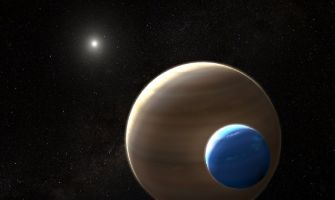 'First exomoon may have been found'