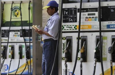 Fuel prices rise again; petrol up at Rs 82.03 per litre, diesel at Rs 73.82 in Delhi