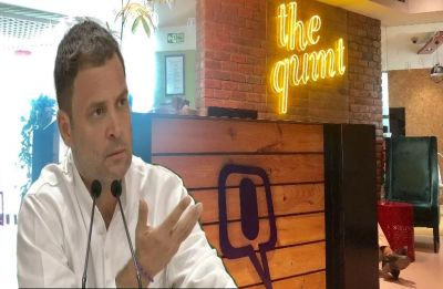 IT raids at 'The Quint' office Modi government's attempt to suppress freedom of speech: Rahul Gandhi