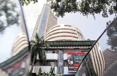 Sensex rallies most in 19 months, Nifty ends above 10,450
