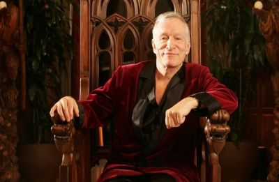 Hugh Hefner's trademark pajamas, captain's hat up for auction