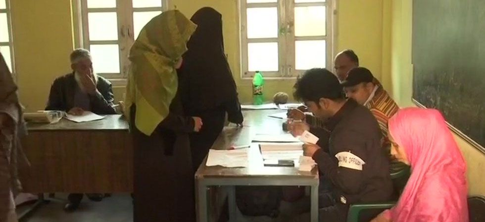 J-K Urban Local Body Elections LIVE: Third phase of polling begins amid tight security (ANI Photo)