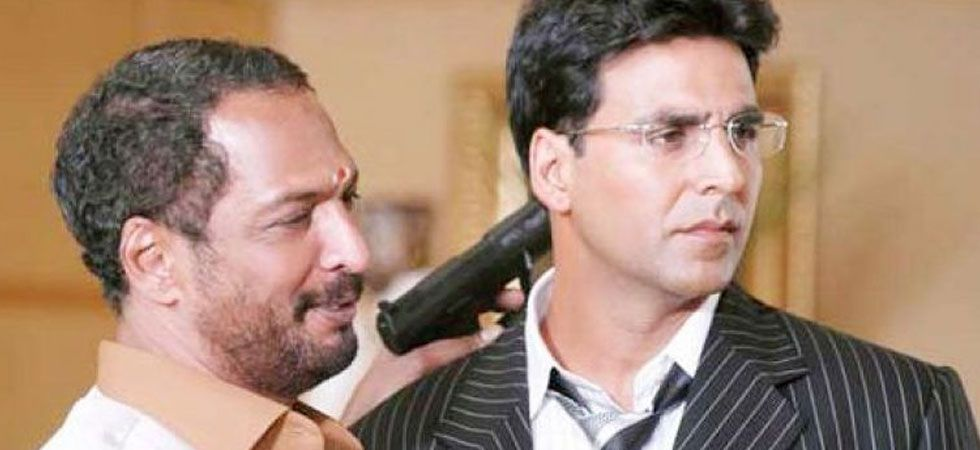 Nana Patekar (left) and Akshay Kumar during a film scene (Photo: Screengrab)