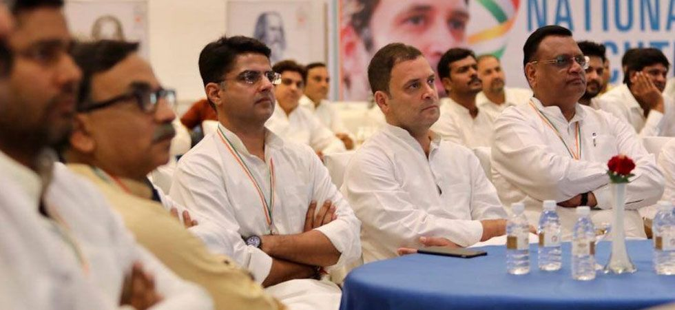 Assembly Elections 2018: Congress faces big ticket distribution challenge in Rajasthan (Photo: Twitter/@SachinPilot)