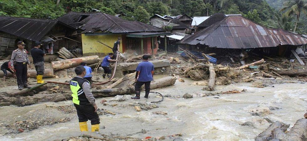 27 dead in floods, landslides on Indonesia's Sumatra island (Photo- Twitter)