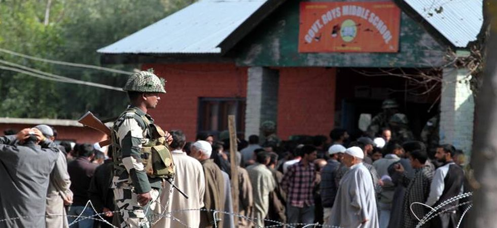 Jammu and Kashmir Civic Polls: 3.49% turnout in Kashmir Valley, Samba records 82% voting in phase-3 (Photo: Twitter)