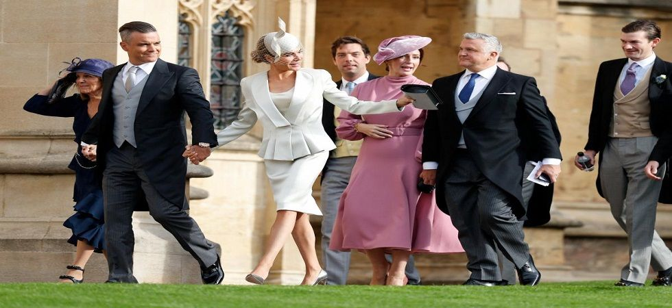 Guests at Princess Eugenie's wedding (Photo: Facebook)