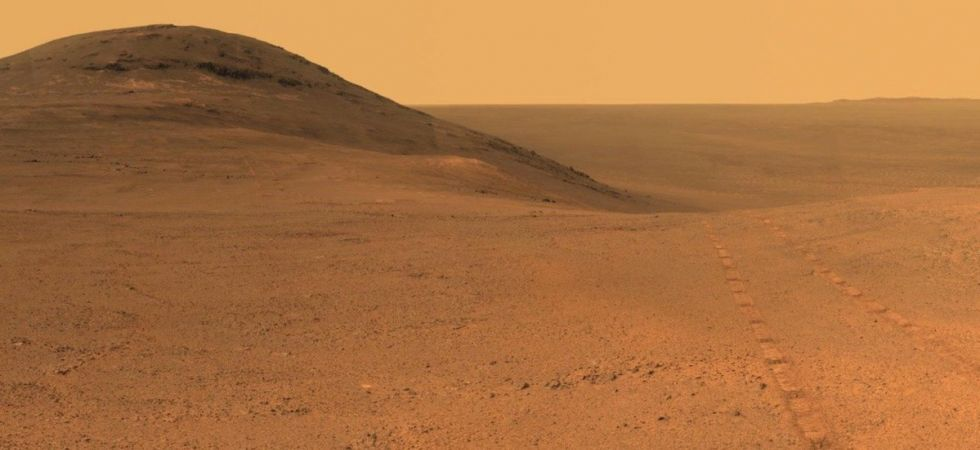 Mars Opportunity Rover remains silent since the global dust storm (Twitter photo)
