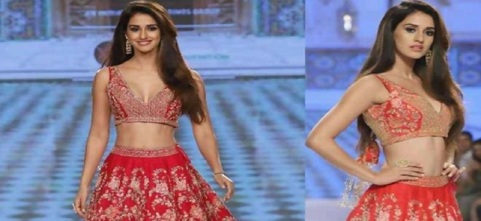 Disha Patani walks in Kalki fashion (Photo: Twitter)