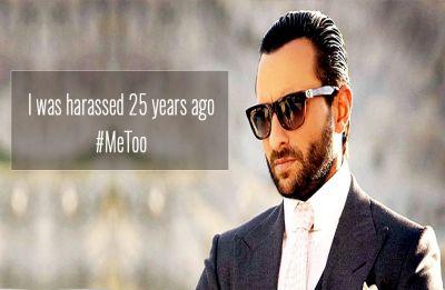 Saif Ali Khan joins the #MeToo debate; Says I was harassed 25 years ago