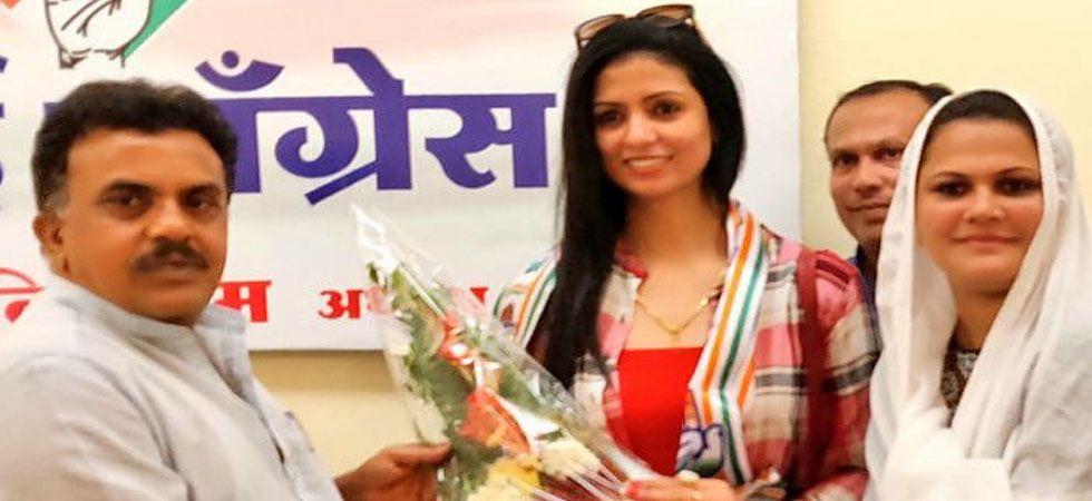 Mohammed Shami's estranged wife Hasin Jahan joins Congress (ANI Photo)