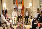 Manmohan Singh, Rahul Gandhi hold talks with visiting Lankan PM Wickremesinghe