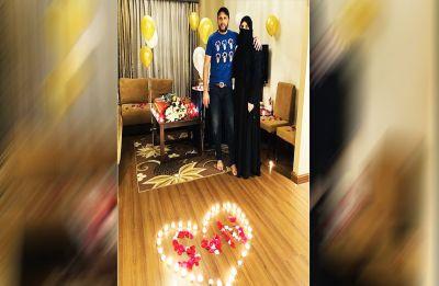 Shahid Afridi celebrates 18th wedding anniversary with wife Nadia, here are the pictures