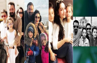 Sanjay Dutt and Maanayata celebrate birthday of their twin munchkins, here are the heartwarming pictures