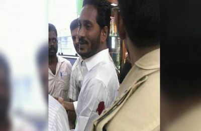 YSR Congress chief Jagan Mohan Reddy stabbed by waiter at Vizag airport