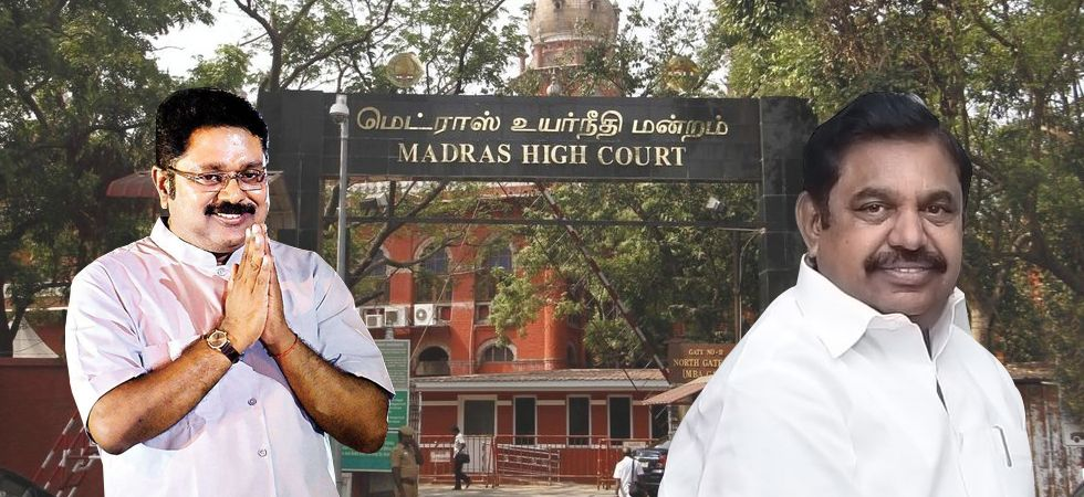 AIADMK hails Madras High Court verdict on disqualification of rebel MLAs