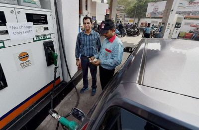 Fuel prices slashed for 10th consecutive day; Petrol at Rs 80.45 per litre, Diesel Rs 74.38 in Delhi