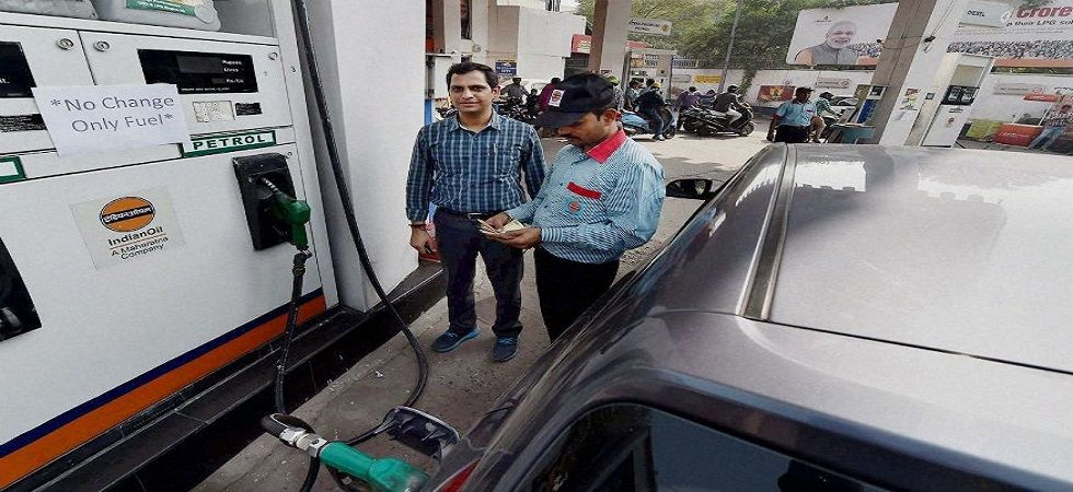 Petrol and Diesel prices were cut for the 10th consecutive day in some relief for consumers. (Image source: Twitter)