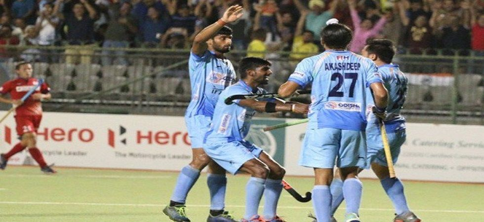 India will take on Pakistan in the final of the Men's Asian Champions Trophy hockey tournament (Image source: Twitter)