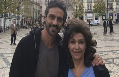 Arjun Rampal's mother passes away, celebs gather to pay condolence