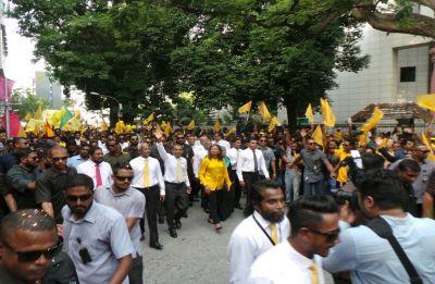 Maldives ex-president Mohamed Nasheed returns from asylum