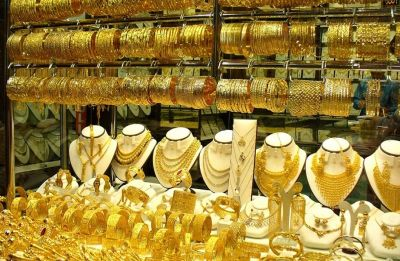 Gold prices up on festive season buying, global cues