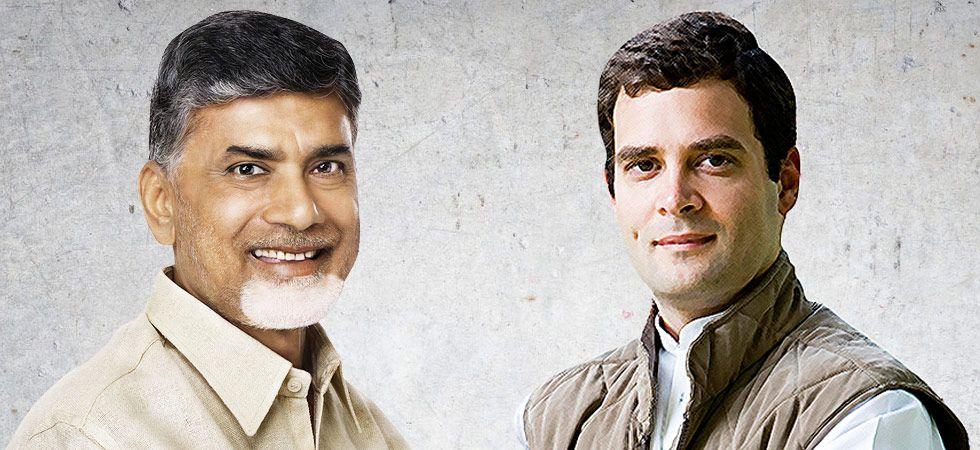TDP chief Chandrababu Naidu to meet Congress president Rahul Gandhi to forge pre-2019 alliance today