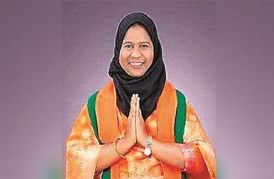 BJP fields young Muslim woman candidate Syed Shahezadi to take on Akbaruddin Owaisi