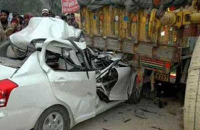 Haryana: 12 dead, 7 injured after truck rams into two-wheelers in Sonipat