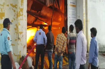 Greater Noida: Fire breaks out at plastic factory in Udyog Vihar