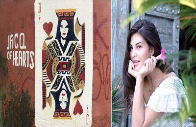 Jacqueline Fernandez graffiti arts 'Jacq of Hearts' is turning selfie points in Mumbai