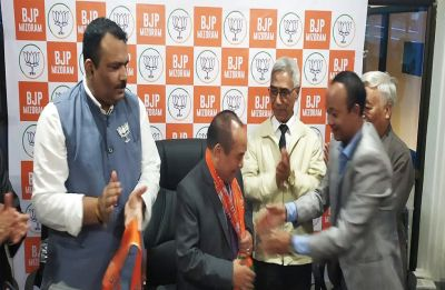 Mizoram Assembly Speaker Hiphei resigns, joins BJP in a jolt to ruling Congress