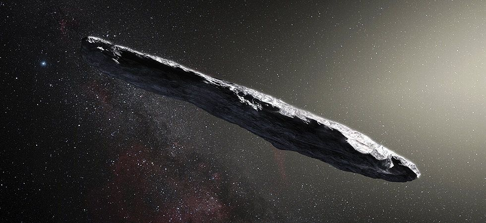 Cigar-shaped object spotted in Solar System could be an 'alien relic', suggest Harvard astronomers