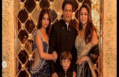 Shah Rukh Khan Diwali Bash had THIS little fella twinning with SRK, check pictures