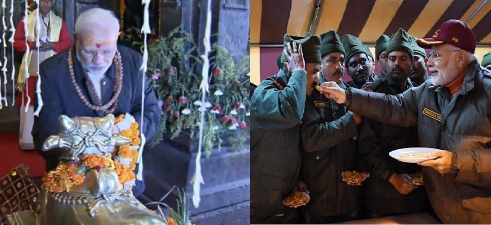 Diwali 2018 celebrations: PM Narendra Modi offers prayers at Kedarnath Temple (Photo Source: BJP Twitter)